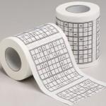idee regalo carta igienica sudoku