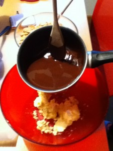 salame al cioccolato preparazione