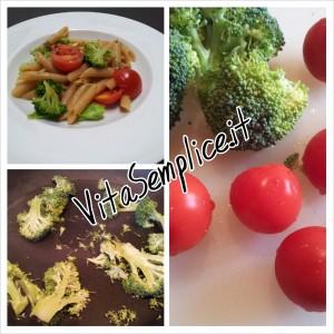 pasta tricolore vegetariana
