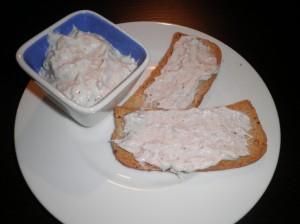 crema al tonno e formaggio