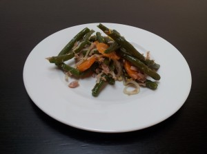 insalata di fagiolini e carote
