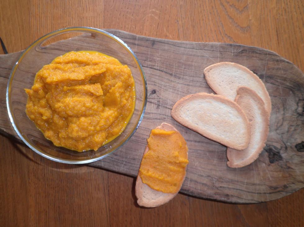crema alle carote