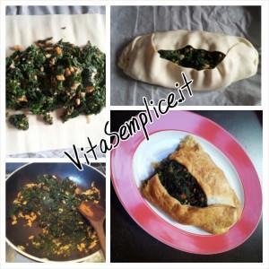 torta salata salmone e spinaci