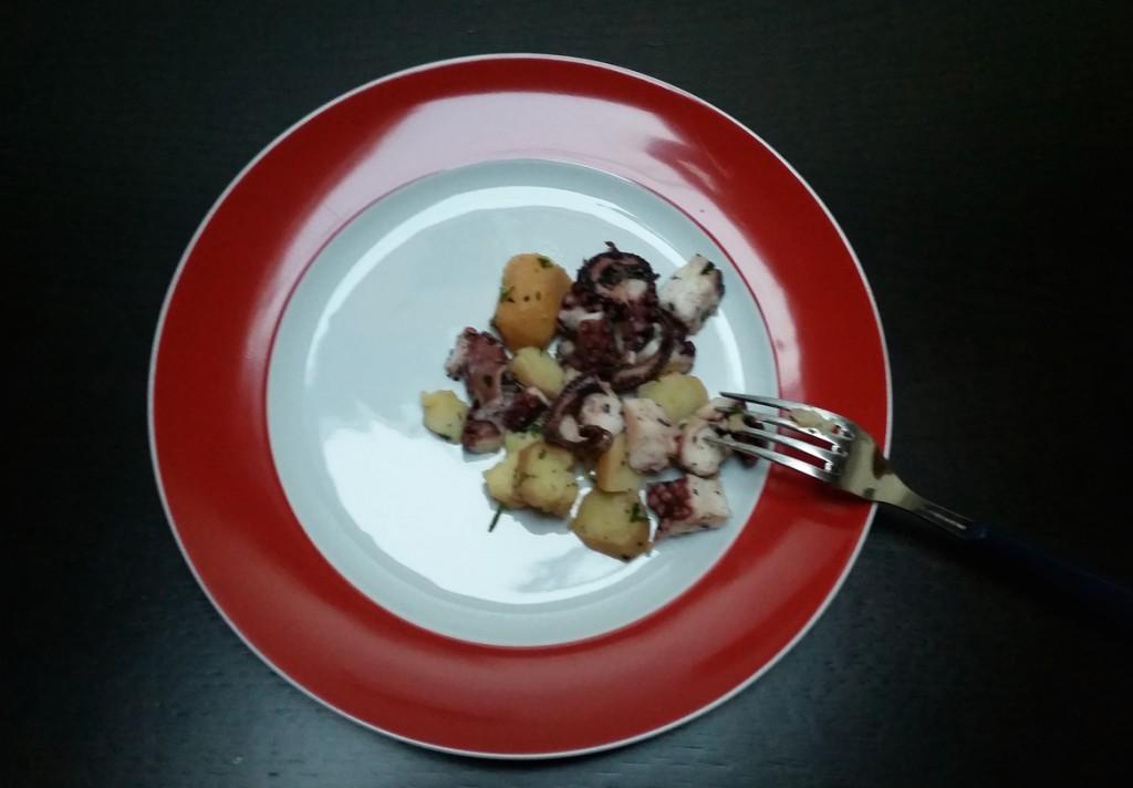 polpo con patate