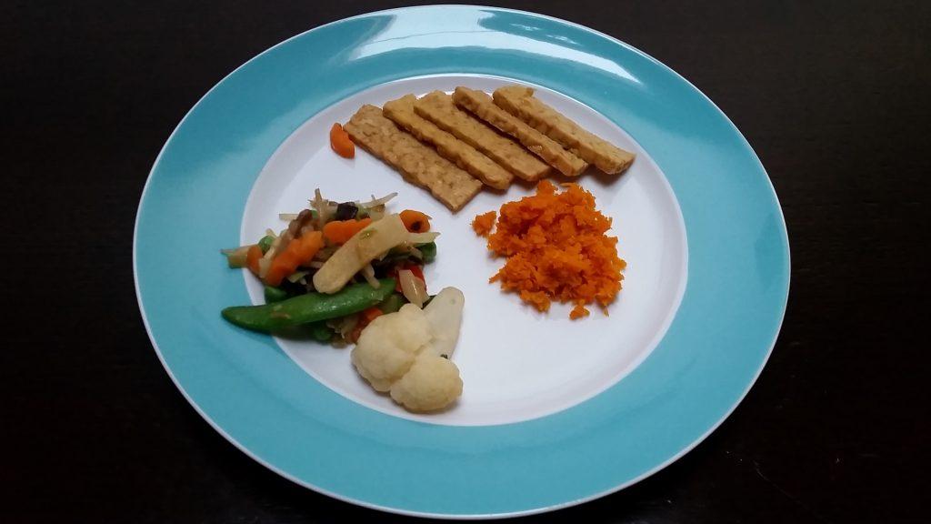 Ricetta Tempeh con carote allo zenzero