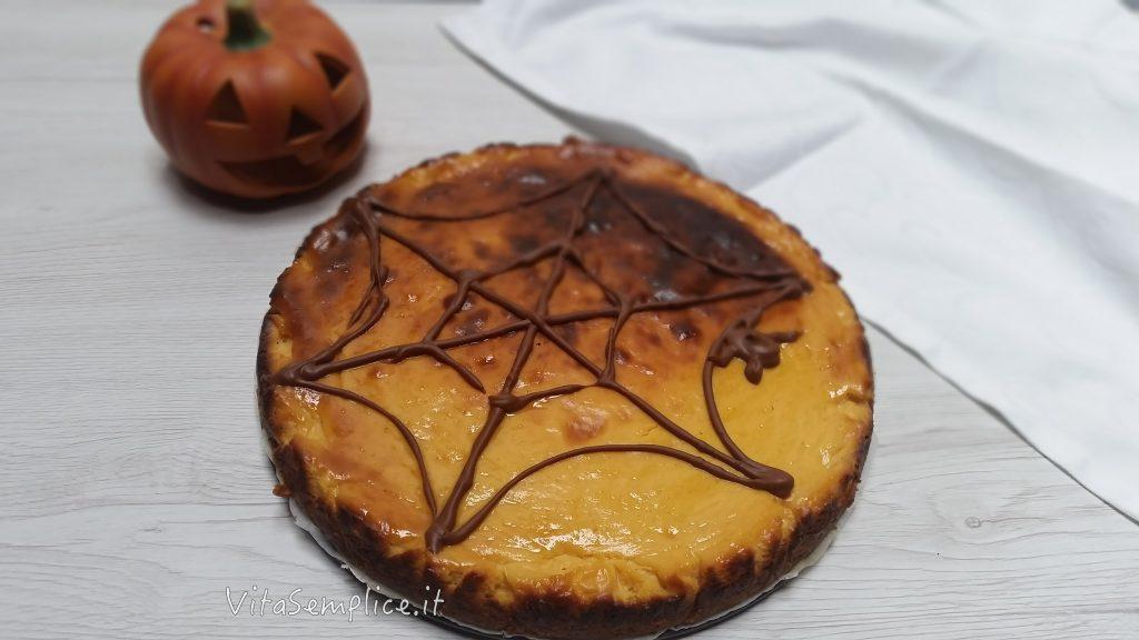 ricetta cheesecake alla zucca