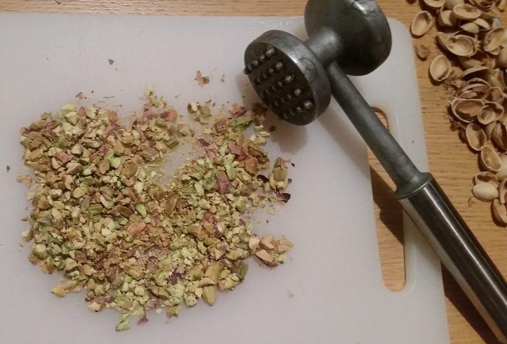 brioches salate ricotta e pistacchi